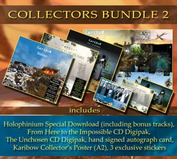 * COLLECTORS BUNDLE 2 * HOLOPHINIUM (Special DL) + FROM HERE ... (Digipak) * + THE UNCHOSEN (Digipak)  + Collector's Poster (ltd.) ** + Extras ********************