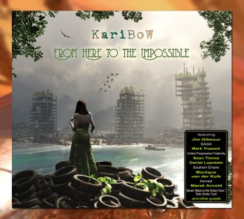 "KARIBOW: ""FROM HERE TO THE IMPOSSIBLE"" *********  (CD Digipak)"