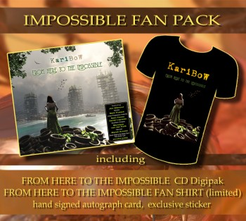 * IMPOSSIBLE FAN PACK * ******* FHTTI Digipak ****** + FHTTI FAN-SHIRT ********* + Signed Autograph Card * + Exclusive Sticker ********
