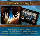 ESSENCE PRE Regular ESSENCE (2CD) Preorder * + Hand signed band poster