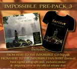 "*IMPOSSIBLE PREPACK 3* FHTTI Digipak Pre-Order ** + ""IMPOSSIBLE"" T-SHIRT * + Signed Autograph Card * + Exclusive Sticker ********"