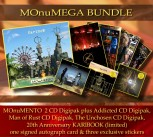 *** MOnuMEGA Bundle *** MOnuMENTO 2CD Digipak * + THE UNCHOSEN Digipak * + MAN OF RUST Digipak *** + ADDICTED Digipak ******* + KariBook (Limited Ed.) ** + Extras ********************