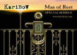 "Karibow Collector's Sticker ""Man of Rust"""
