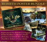 REBIRTH POSTER BUNDLE SF REBIRTH Digipak ****** + Collector's Poster (ltd.) ** + 2 Stickers of your choice