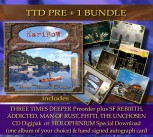 **** TTD PRE +1 Bundle **** THREE TIMES DEEPER PRE + 1 Album of your choice * + Signed autograph card **