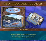 *** TTD PRE Regular *** THREE TIMES DEEPER PRE + Signed autograph card **