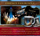 * ESSENCE FAN Bundle * ESSENCE (2CD) Preorder * + ESSENCE Fan T-Shirt *** + THE ESSENCE MUG ***** + Hand signed band poster