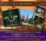 ****** 2 + 1 BUNDLE ****** SF REBIRTH Digipak ****** + MOnuMENTO CD Digipak + 1 Album of your choice * + Extras ********************