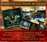 KARICOLLECTION BUNDLE SF REBIRTH Digipak ****** + THE UNCHOSEN Digipak * + MAN OF RUST Digipak *** + ADDICTED Digipak ******* + Collector's Poster (ltd.) ** + Extras ********************